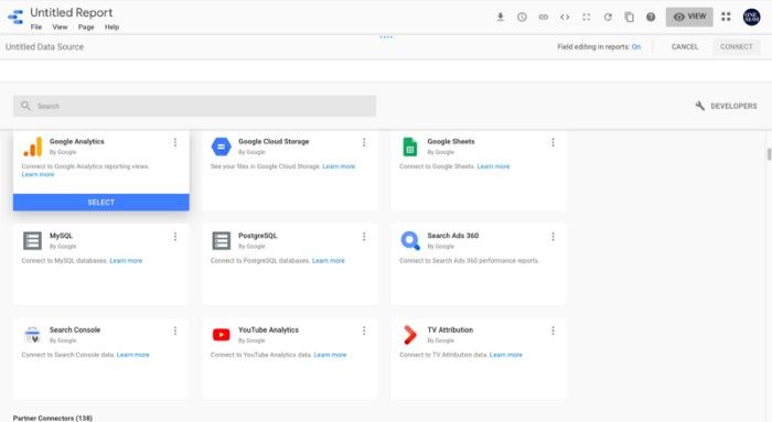 Google Data Studio คือ